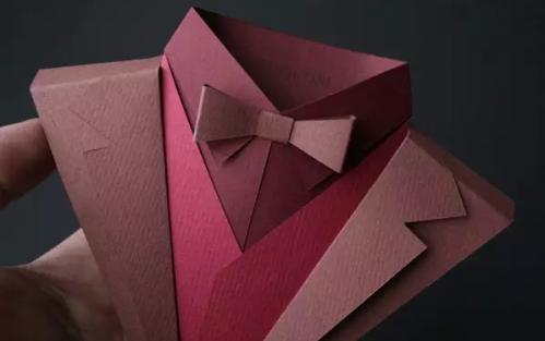 让人惊叹的折纸艺术 英国设计师折纸服饰设计