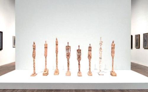 """聚焦雕塑画:艺术界以瘦为贵 """"骨感""""雕塑价更高"""